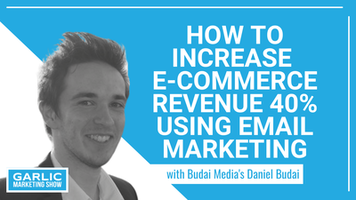 How to Increase E-Commerce Revenue 40% Using Email Marketing with Daniel Budai